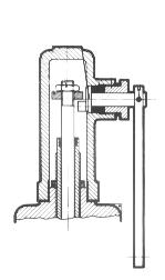 Open (marine) easing gear Figure 2 Open type easing gear Valves which are used for steam or compressed air are normally fitted with open type easing gear.