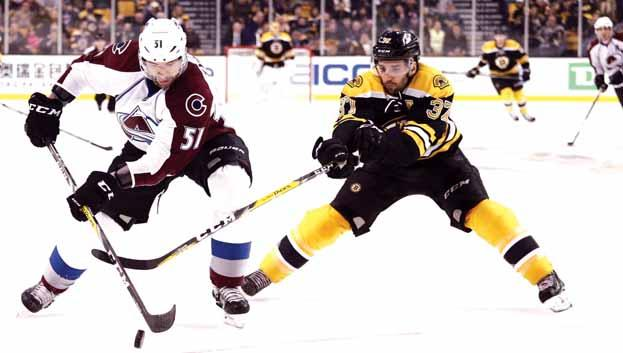 Gulf Times SPORT 5 NHL Boston Bruins go down to Colorado Avalanche By Steve Conroy Boston Herald (TNS) So maybe spotting the opposition a three-goal lead isn t a recipe for success.