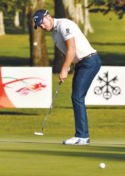 As injury-hampered defending champion Justin Rose and Ian Poulter left fuming after a late quadruple bogey flirted with the cut, Willett finally located the form that has eluded him for months.