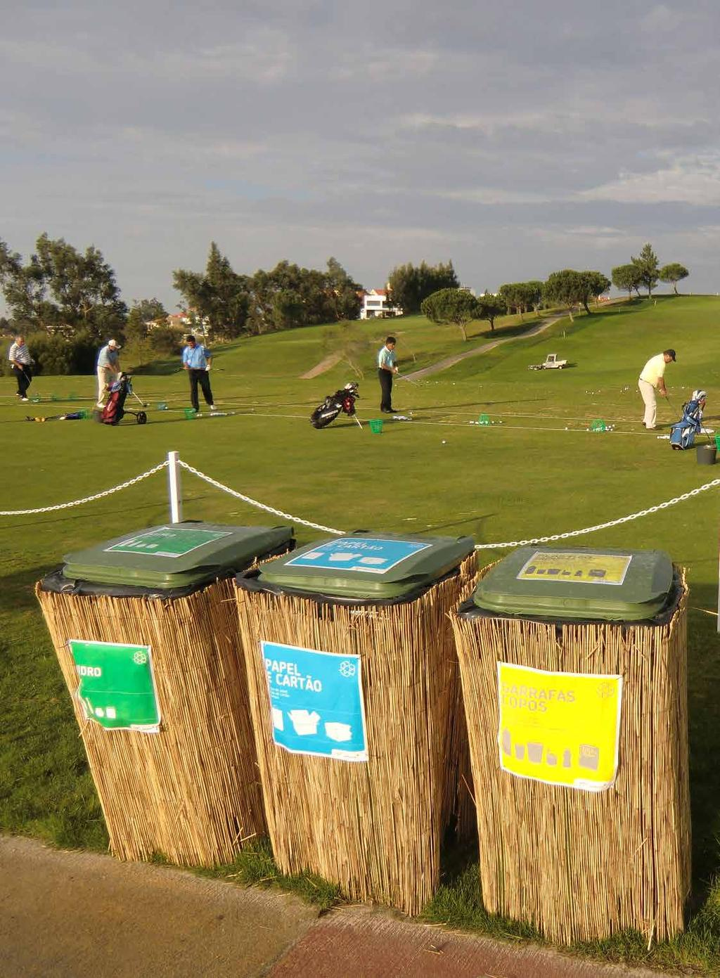 RESPONSIBLE GOLF COURSE MANAGEMENT IS ABOUT minimising... WASTE through reduction, re-use, and recycling. This will become the industry norm through awareness campaigns.