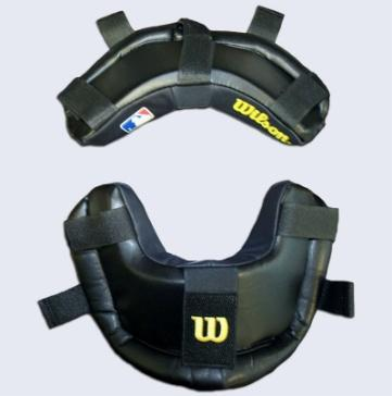 Fits Champro and most other masks. Black on all sides. Attaches with Velcro straps.