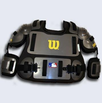 Umpire Gear Package (#5100) $79.00 Includes mask (#5006V), Chest Protector (#5021), Single Knee Guards (#5013), Plate Brush, 4-Dial Indicator, and Ball Bag.