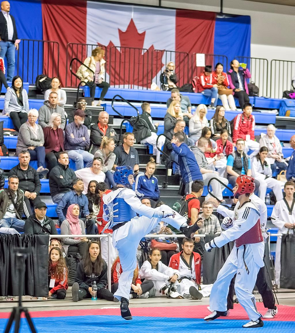TIMELINE December 15, 2017 the deadline to submit bids and/or submit the expression of interest in hosting the events to events@taekwondo-canada.