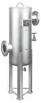 M /FF Series Water droplet separation Water Separator Water droplet removal ratio: % Large dust particle filtration, Oil droplet separation Main Line Filter Nominal filtration rating: 3 µm