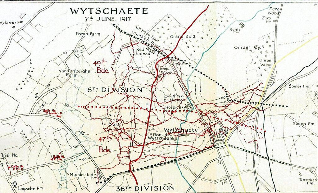 Flanders: Wytschaete : June 7 th 14 th 1917 The 1RMF took all its objectives on schedule despite the loss of nearly all of its supporting tanks.