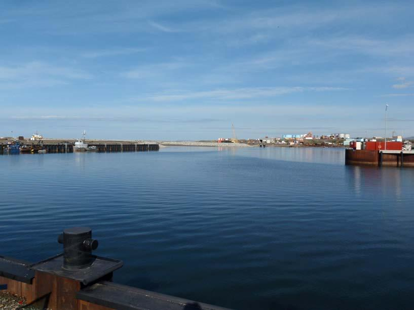 Nome Harbor View towards the