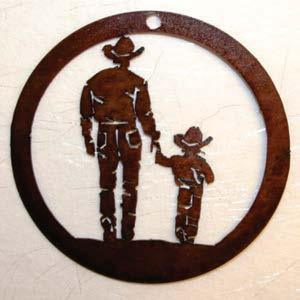 Cowboy and Son