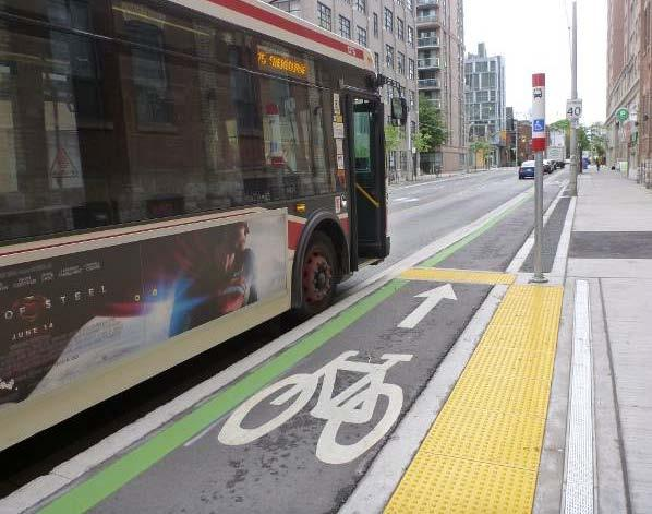 Sherbourne Street Vancouver BC Missoula MT Cambridge MA Bus Stops Buses with low floors and