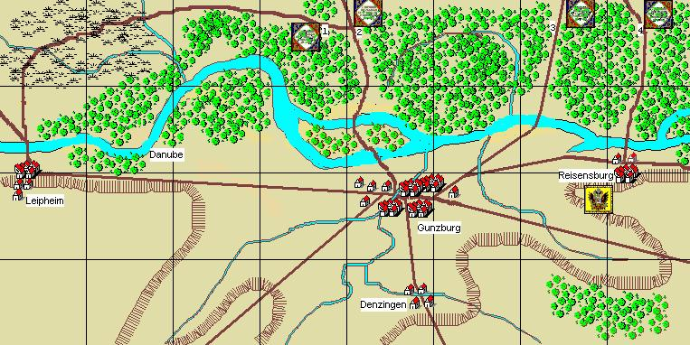 2. Gunzberg 9th October, 1805 Scenario Notes: French player/s briefing: Général de Division Mahler: Ney has been instructed by Berthier to capture Gunzburg and sever the Austrian s escape route