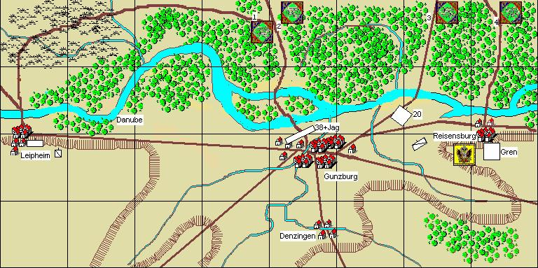 2. Gunzberg, 9th October Umpire s Notes: For an historical re-fight, the two sides should start with their forces in the locations described in the order of battle and that are shown on the maps
