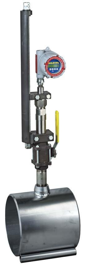 VORTEX INSERTION FLOW METERS ivx Design Features Principles of Operation Wide range of available insertion inside diameter applications.