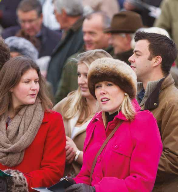 Situated in the centre of the racecourse, the Course Enclosure offers a great day out for those racegoers with limited budgets.
