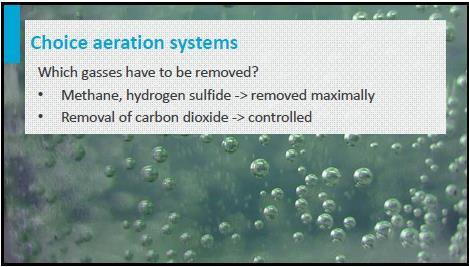 aeration systems.