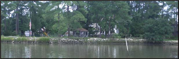 Most of the property along the north shore of Goodwin Neck is commercial.