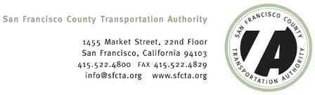 Memorandum Date: November 20, 2017 To: Transportation Authority Board From: Eric Cordoba Deputy Director Capital Projects Subject: 12/5/17 Board Meeting: San Francisco Freeway Corridor Management
