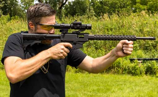Basic Carbine Reliability, Accuracy, Simplicity and Value packed into a great shooting rifle.