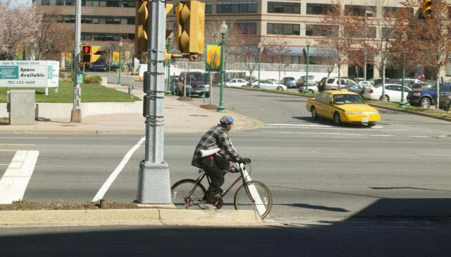reducing pedestrian and bicyclist vehicle conflicts VDOT policies, design