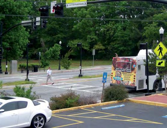 Safety Case Benefits Study: of Buford Walkways, Highway, Sidewalks, Pedestrian DeKalb and Paved Hybrid County, Shoulders Beacons GA Location Characteristics Buford Highway is seven-lane roadway that