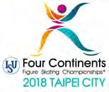 FOUR CONTINENTS FIGURE SKATING CHAMPIONSHIPS 2018 January 22 27, 2018, Taipei City / Chinese Taipei Appointed Event Officials Representative: Ms. Marie LUNDMARK Medical Advisor: Ms. Jane M.