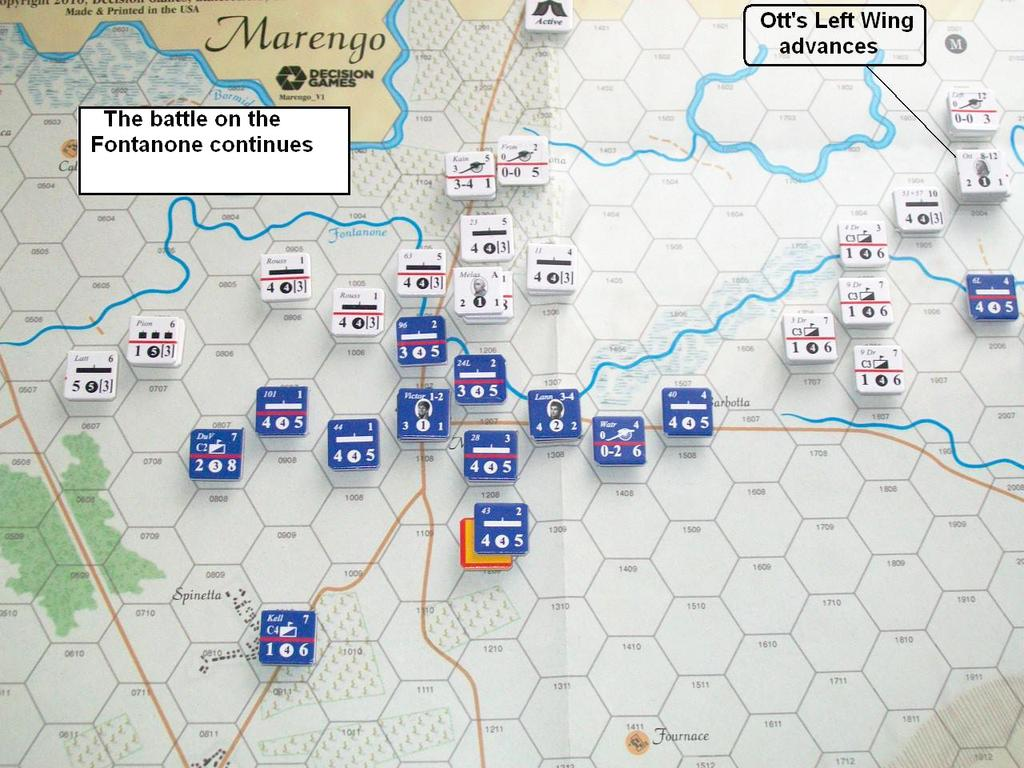 Morning Defeat, Afternoon Victory Photo 7 T4 44 th and 101 st Line Infantry disengage and fall back. The 96 th Line advances to plug the gap in the French line. Gen.