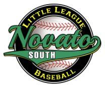 Spring 2018 To All Manager/Coach Applicants: Thank you for your interest in managing a Novato South Little League team for the 2018 season!