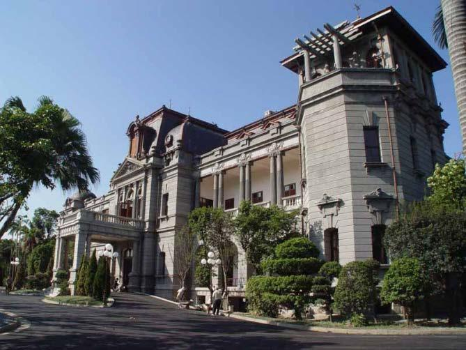 The Taipei Guest House originally served during the Japanese colonial period as the official