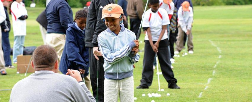 11 JUNIOR GOLF As part of a strategic effort for a more formalized approach to developing junior golfers, several steps for more prominent and aggressive initiatives were initiated.
