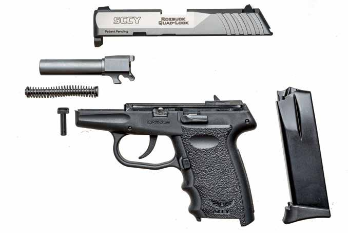 66 G&A july 2017 reach for the sccy REDUCED- SIZE CARRY PISTOLS are always hot sellers. As the world turns increasingly violent, the capability to defend ourselves becomes increasingly necessary.