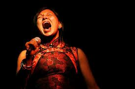 Throat singing is traditionally women who do duets, face each other and