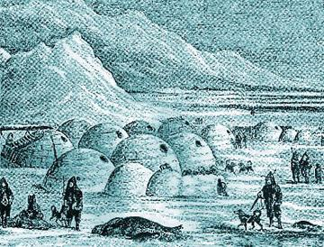 The Inuit are an Aboriginal people who make their home in the Arctic