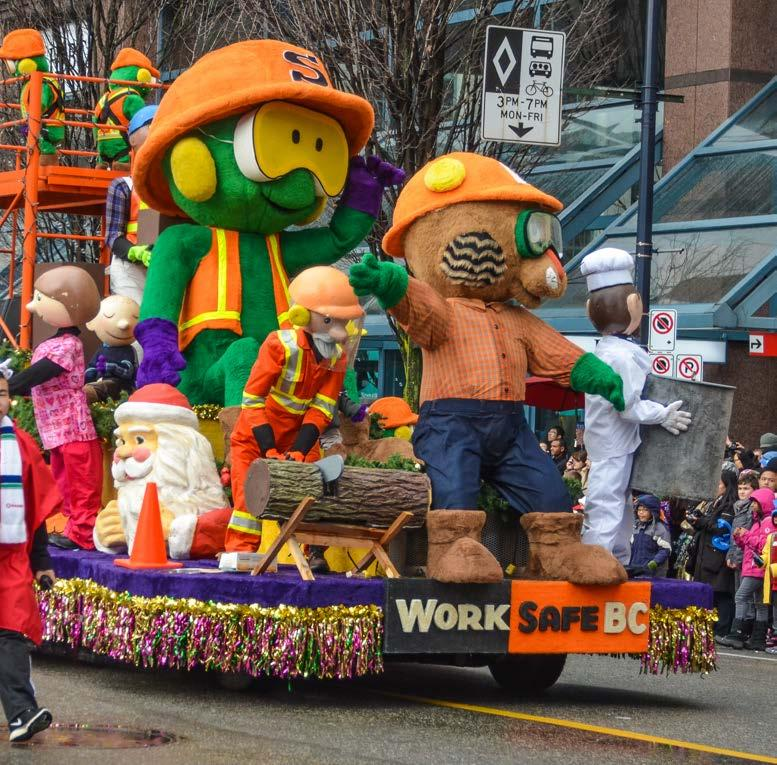 CORPORATE FLOAT WITH FULL PROMOTIONAL INCLUSION For organizations that have their own float and would like full inclusion into our promotional opportunities with our radio, television and print