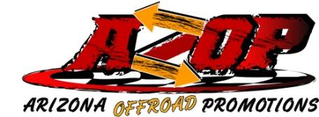 Arizona Off-Road Promotion (AZOP) Motorcycle Rules Arizona Off-Road Promotions (referred to as AZOP hereinafter) rules and regulations.