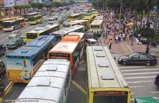 Each Chinese city will need to determine the appropriate mix of transit solutions for its conditions, but cities can guarantee the overall success of their transit by providing frequent, fast, and