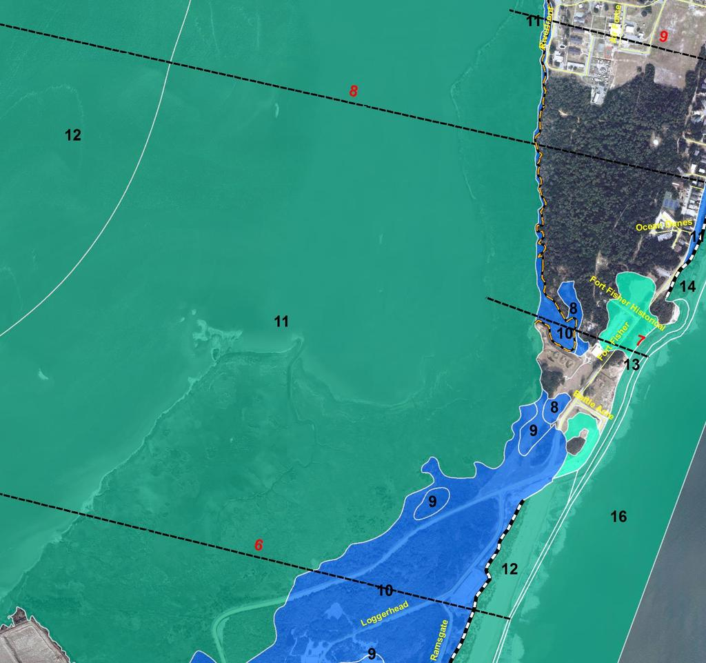 Mapping of Coastal Flood Zones Coastal AE (Blue) VE (Blue/Green) LIMWA