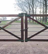 GATE ETIQUETTE Please remember that the Stieler Ranch is a working cattle and horse ranch. We need to remember ranch gate etiquette.leave all gates as you found them.