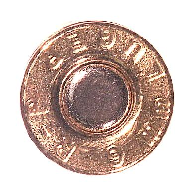 Ammunition Headstamp - Numerals, letters and symbols (or combination thereof) stamped into the head of a cartridge case or shotshell to