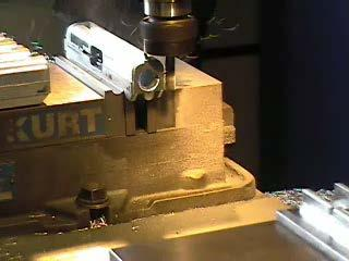 machined on a milling machine The