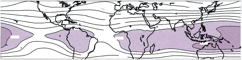 shape of continents, orography (particularly mountain barriers), and ocean temperatures.