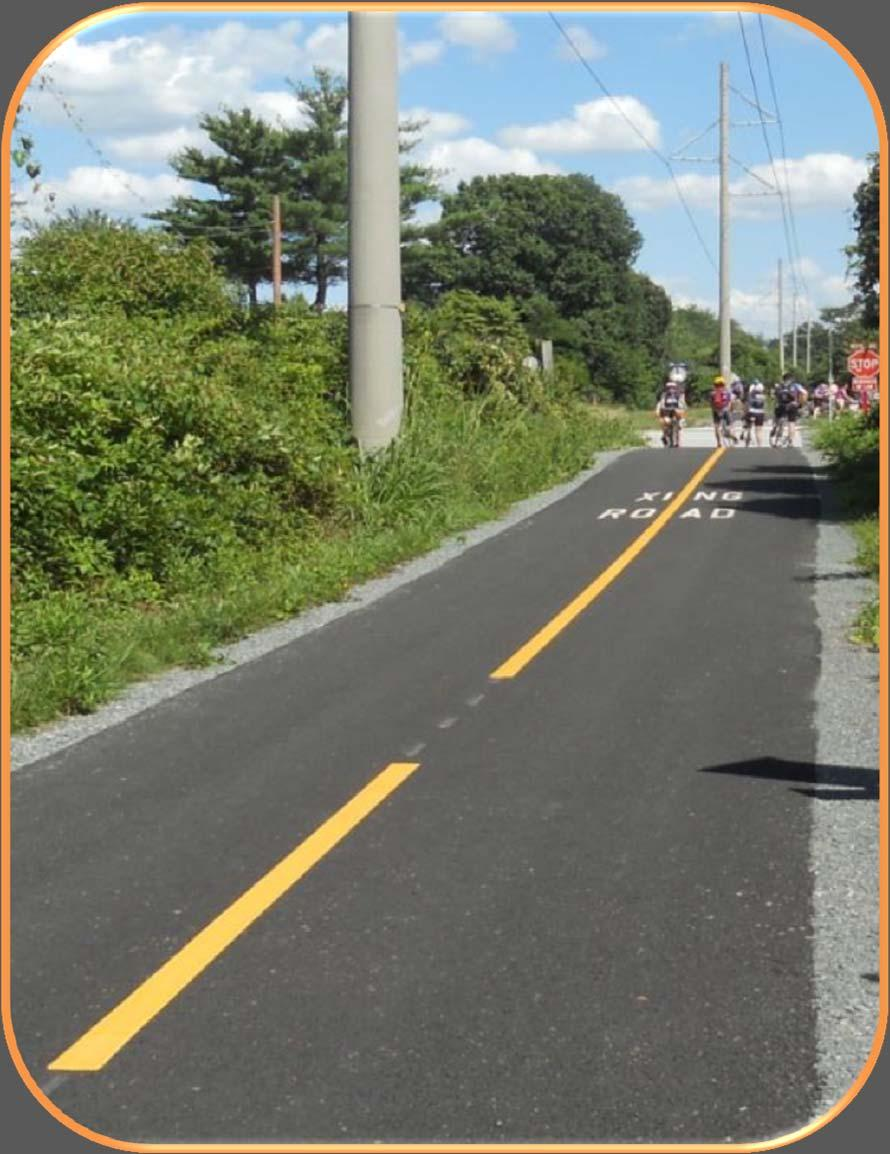 PATH SURFACE Asphalt Typically lower construction cost Concrete Typically