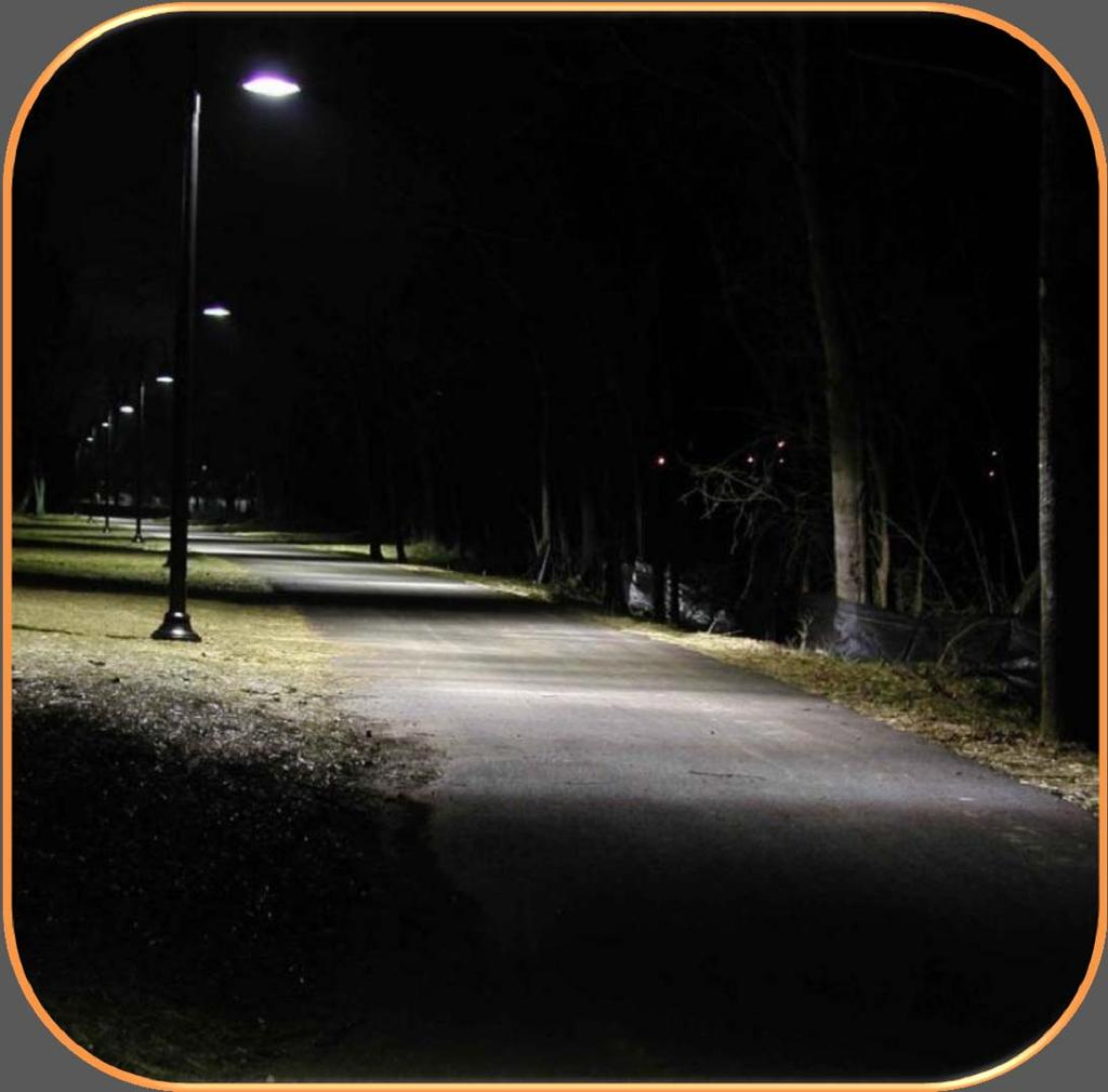 LIGHTING Where nighttime use is permitted Pedestrian scale