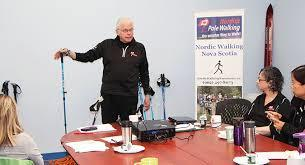 WHY YOU SHOULD USE THE NORDIC POLES For balance in walking To give your lower body and upper body a work out To help you speed up Nordic walking poles are very different from hiking and trekking
