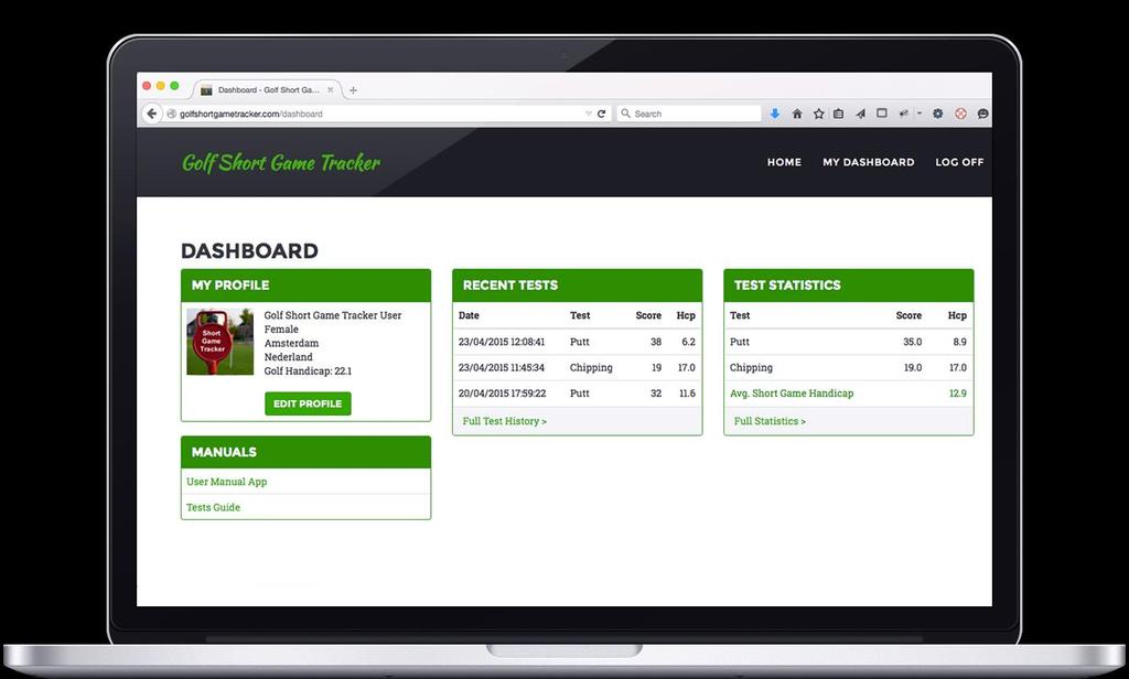 For more information about this see the Golf Short Game Tracker Website.