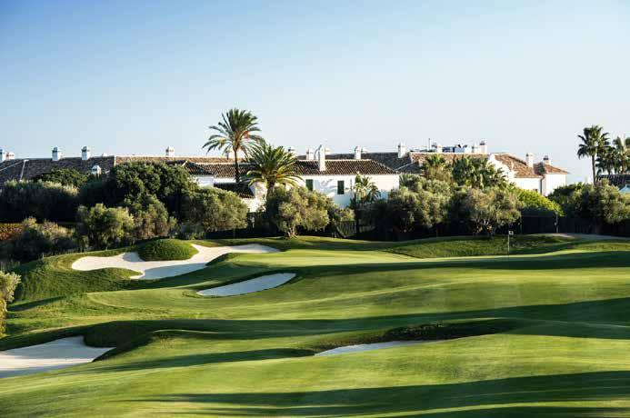 31 August - 10 September 31 August - 10 September FINCA CORTESIN A demanding par 72, measuring 6,802 metres from the back tees, and with more than 100 bunkers, Finca Cortesin is ranked one of Spain s