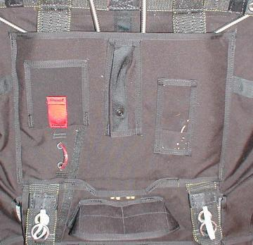 Cypres Closing Loop Grommet 3 4 2 3 5 INNER TOP FLAP HARNESS COVER MODS The harness covers