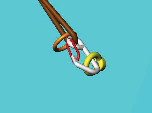 hook and ring onto the winch lines, ensure that the winch lines are of equal length.