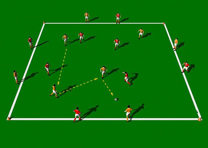 Burnley FC Possession Game This is a great possession exercise that emphasizes quick passing, movement and communication between players.