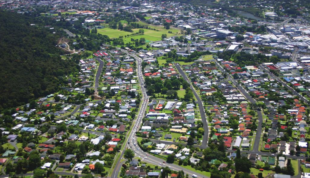 WHANGAREI IMPROVEMENTS WILSON AVENUE TO FOURTH AVENUE The state highway will be widened to four lanes from the SH1/14 intersection to Central Avenue and a raised median installed from south of Fourth