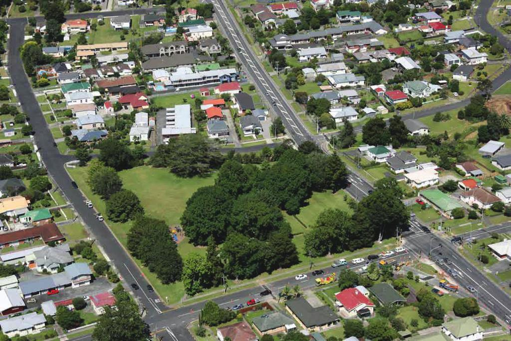 SELWYN AVENUE TO WILSON AVENUE Intersection improvements between Selwyn Avenue and Wilson Avenue included widening the state highway to four lanes to improve traffic flows and reduce congestion at