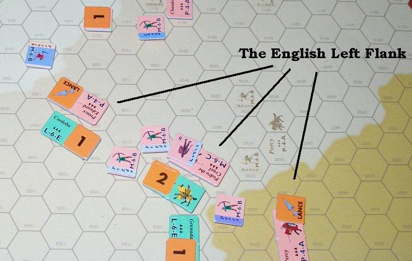 Turn 6 Pedro removes the Disobey marker from his cavalry, but they re still routing. Prince Edward recovers Chandros s men from their rout.