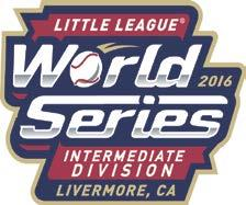 Little League Intermediate World Series Premier Sponsor - $20,000 2016 Sponsorship Packages Named Presenting Sponsor of a Pre-Event Activity or